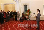 Gặp gỡ cơ quan ngoại giao, báo chí nước ngoài tại Việt Nam dịp năm mới