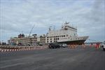 Cảng Quốc tế Long An đón tàu vận chuyển