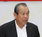 Phó Thủ tướng Trương Hòa Bình thăm và làm việc tại tỉnh Bình Định