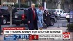 Video ông Trump cùng vợ tới nhà thờ cầu nguyện trước giờ tuyên thệ