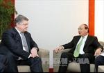 Thủ tướng Nguyễn Xuân Phúc hội kiến Tổng thống Ukraine