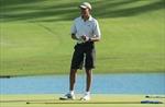 Ngày đầu tiên làm thường dân, ông Obama thảnh thơi chơi golf