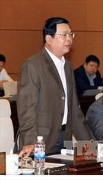 Ủy ban Thường vụ Quốc hội ra Nghị quyết kỷ luật ông Vũ Huy Hoàng