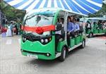 Khai trương tuyến xe buýt điện đầu tiên tại TP Hồ Chí Minh