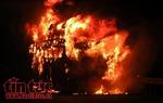 Thanh Hóa: Cháy lớn tại Công ty TNHH Dịch vụ thương mại Khắc Ánh