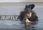 Xem Vệ binh Quốc gia Nga rèn luyện kĩ năng tác chiến dưới nước