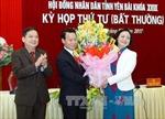 Hội đồng nhân dân tỉnh Yên  Bái họp bất thường bầu các chức danh