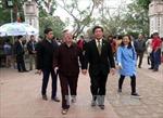 Kiểm tra công tác tổ chức Lễ hội đền Trần