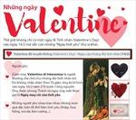 Có nhiều ngày Valentine hơn chúng ta tưởng
