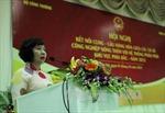 Thực hiện nghiêm chỉ đạo của Tổng Bí thư liên quan Thứ trưởng Hồ Thị Kim Thoa