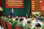 Chủ tịch nước Trần Đại Quang làm việc với các cơ quan thi hành án Trung ương