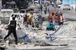 Đánh bom ở thủ đô của Somalia, 50 người thương vong