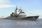 Tàu khu trục Mỹ cập cảng Estonia