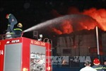 Diễn tập phương án phòng chống cháy nổ lớn tại Kho khí dầu mỏ hóa lỏng Dung Quất