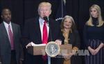 Tổng thống Trump tuyên bố tăng cường sức mạnh quân sự 'lớn chưa từng thấy'