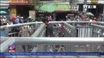 'Mê cung' barie vỉa hè tại TP Hồ Chí Minh