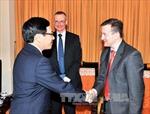 Phó Thủ tướng Phạm Bình Minh tiếp Đại sứ Cộng Hòa Pháp tại Việt Nam