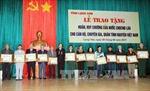 Lạng Sơn trao tặng huân, huy chương cho quân tình nguyện Việt Nam tại Lào