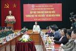 Đống chí Trương Thị Mai gặp mặt đại biểu 'gương mặt trẻ tiêu biểu' Bộ đội Biên phòng