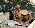 CSGT Hà Nội tổ chức mật phục bắt 'xe buýt nhái'