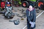 Học sinh Đan Mạch tìm thấy xác chiến đấu cơ và hài cốt phi công Đức Quốc xã