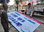 'Chiến dịch' giành lại vỉa hè đã lan đến Tam Kỳ, Quảng Nam