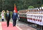 Chủ tịch nước Trần Đại Quang chủ trì tiệc chiêu đãi Tổng thống Israel
