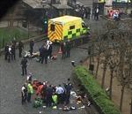 Nổ súng bên ngoài nhà Quốc hội Anh, một đối tượng xông vào trong tấn công cảnh sát