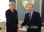 Tổng thống Nga tiếp ứng cử viên Tổng thống Pháp Le Pen