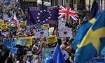 Người Anh rầm rộ biểu tình phản đối chia tay châu Âu