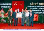 Phường Ba Đình đón nhận bằng khen của Thủ tướng Chính phủ