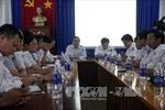 Lãnh đạo Bộ GTVT đến hiện trường vụ tai nạn tàu Hải Thành 26