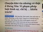 Vụ 'bắt và thả người vô tội vạ' tại Hưng Yên: Xử lý nghiêm cán bộ sai phạm
