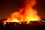 Cháy dữ dội trong khu công nghiệp ở Đồng Nai, cột khói cao hàng chục mét