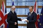 Giây phút lịch sử của tiến trình Brexit: Anh trao Điều 50 tới Chủ tịch EC