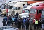 Lái xe tải Nga đình công toàn quốc vì thuế chồng thuế