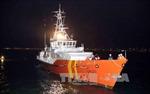 Vớt được một thi thể trong vụ chìm tàu trên vùng biển Bà Rịa-Vũng Tàu