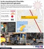 Toàn cảnh vụ tấn công khủng bố ở Thụy Điển