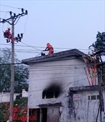 Nghệ An: Xác định nguyên nhân cháy làm thiêu rụi Trạm biến áp xã
