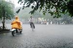 Cần Thơ mưa to kéo dài, giải nhiệt nắng nóng