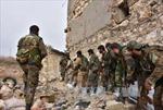 Quân đội Syria giành lại một thị trấn chiến lược