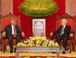 Tổng Bí thư Nguyễn Phú Trọng tiếp Thủ tướng Sri Lanka