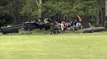 Trực thăng quân sự Mỹ rơi xuống sân golf, 3 người thương vong