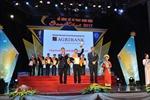 Agribank được vinh danh phần mềm xuất sắc tại Sao Khuê 2017