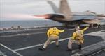 Hải quân Mỹ lên tiếng về vị trí 'bí ẩn' của tàu sân bay USS Carl Vinson