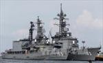 Tàu khu trục Nhật lên đường gia nhập nhóm tàu USS Carl Vinson