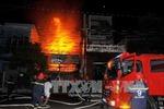 Hỏa hoạn thiêu rụi căn nhà hai tầng ở TP Hồ Chí Minh