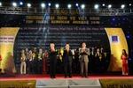 """10 doanh nghiệp du lịch được tôn vinh tại Giải thưởng """"Thương mại dịch vụ Việt Nam"""" 2016"""