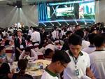 Nhiều khách hàng tham gia lễ mở bán phố thương mại Kim Phát và Thiên Phát