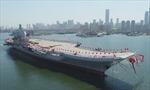Trung Quốc hạ thủy tàu sân bay đầu tiên sản xuất trong nước